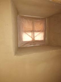 Lehm trifft Fenster