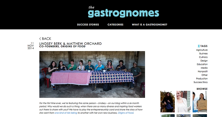 Good Food Jobs Blog - Gastrognomes