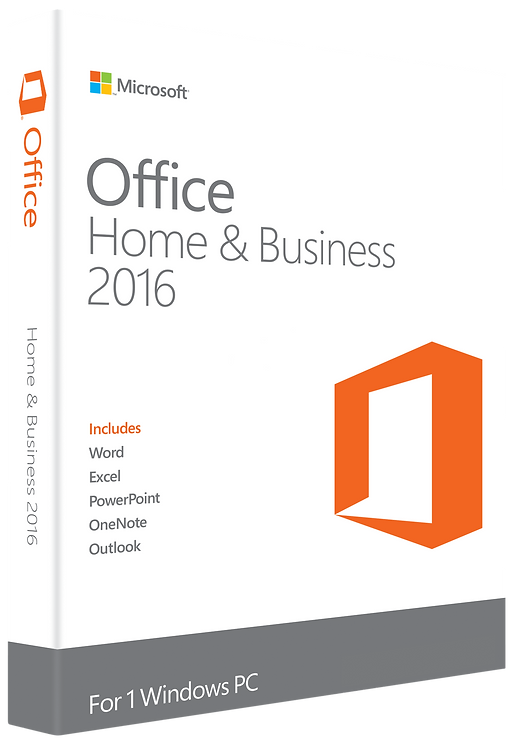 Licença Microsoft Office Home and Business 2016 32 / 64 BITS – ESD