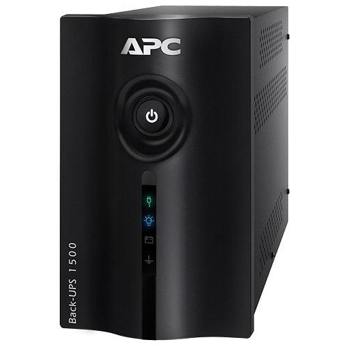 APC Nobreak Back-UPS 1500VA 825W (Entrada Bivolt, Saida 115V), Expansível, USB,
