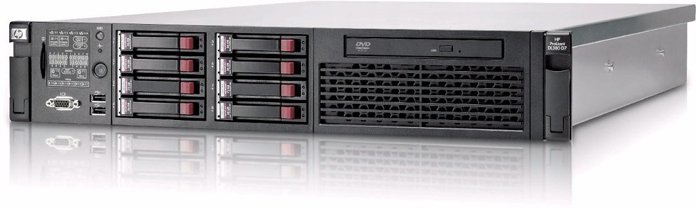 Servidor HP DL 380 G6 2x QuadCore, 64Gb Ram, 4x 146GB SAS