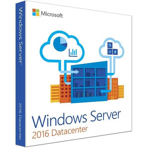 Licença Microsoft Windows Server 2016 Datacenter
