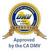 CA DMV Approval Seal