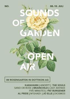 Sounds Of Garden Open Air - Lineup 2021 - Dottikon AG