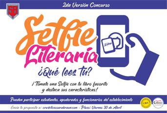 Selfie Literaria - Afiche