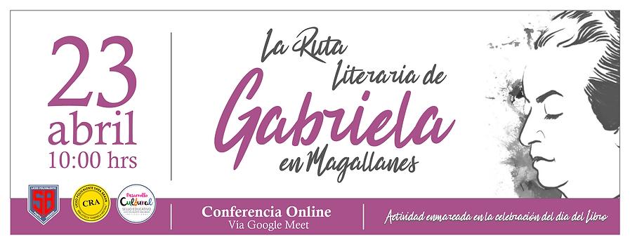 Aficha La Ruta Literaria de Gabriela Mis