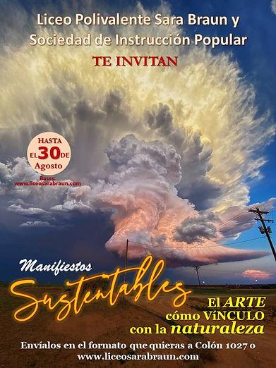 Concurso Manifiestos Sustentables - Liceo Polivalente Sara Braun - Sociedad de Instrucción Popular