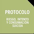 Iconos Protocolos Riesgo Intento de Suic