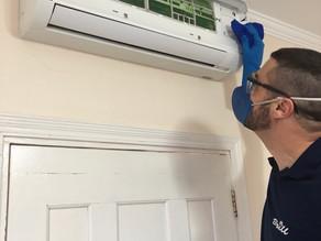 Higienização de Ar-condicionado é importantíssima na prevenção de doenças respiratórias.