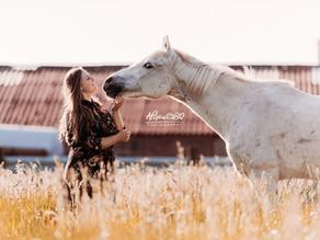 Afscheidsfotoshoot van je paard