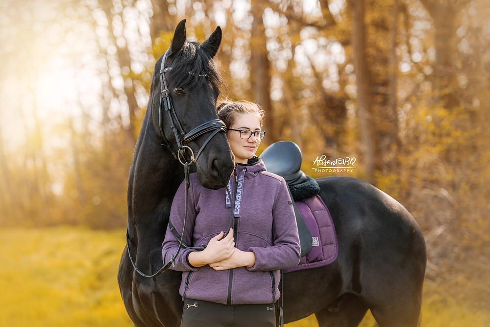 Friese paard, Paard, Eskadron, Paardenfoto