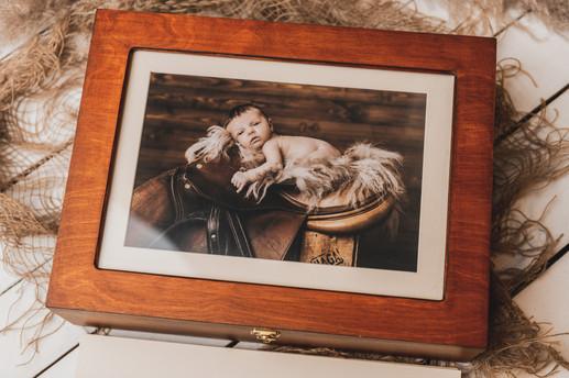 Houten fotobox