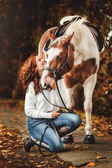 meisje en paard