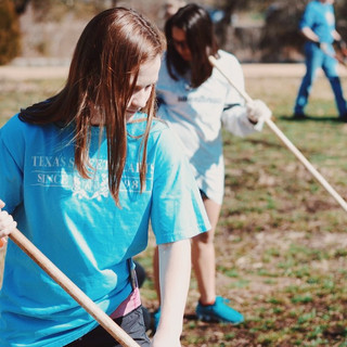 Pease Park clean up