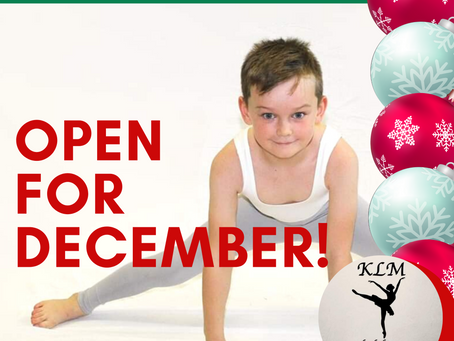 December at KLM School of Dance