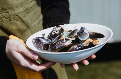 Moules Season means only the best moule flavours are available for your special day