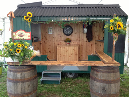 Our Cider Shack in all its glory