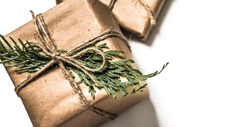 Gift Wrap with Personal Card