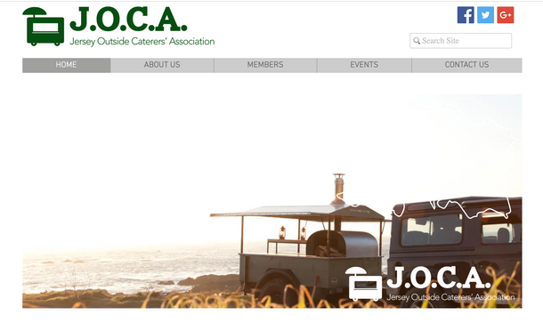 Website - Jersey Outside Catering Association