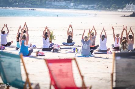 Event - Beach Yoga & Supper Club