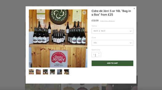 Website & Newsletter - La Robeline Cider