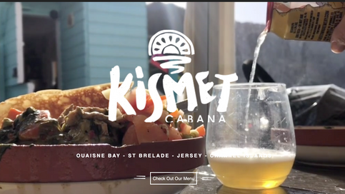 Website - Kismet Cabana