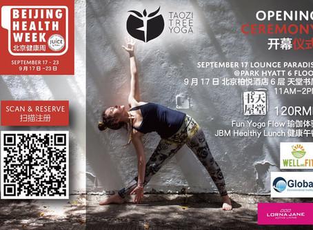 Opening for Beijing Health Week