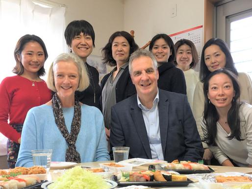 EIL UKの代表が東京事務所に来訪!