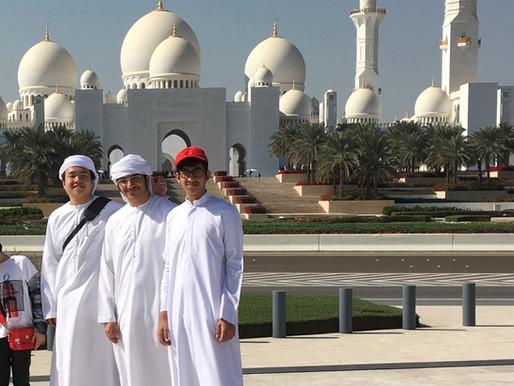 【ホストファミリー体験談】Abdulla君を訪ねて、アブダビへ!
