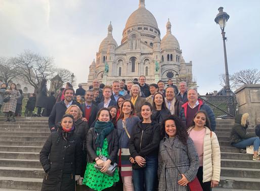 EIL国際連盟会議&総会 パリにて開催中!
