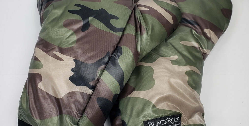 Sold Out - Foldback Mitts in Woodland Camo