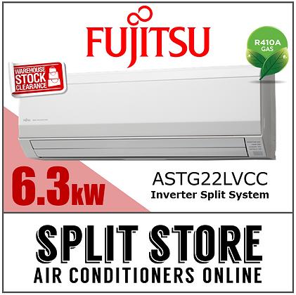 Fujitsu - 6.3kW Split System (Classic Range)