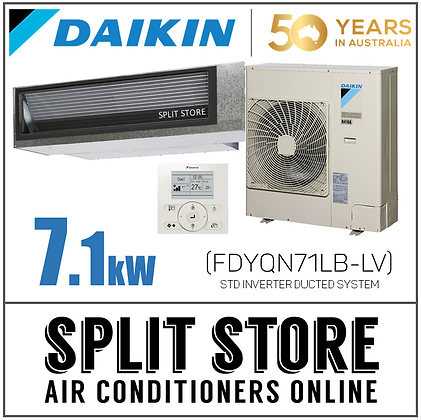 DAIKIN | Ducted Inverter 7.1kW - FDYQN71LB-LV