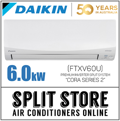 DAIKIN | Cora S2 6.0kW - FTXV60U