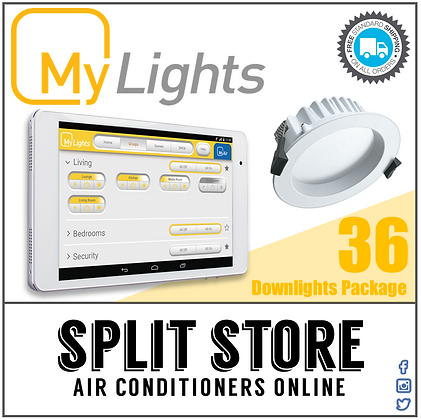 MyLights - Stand Alone LED Lighting Package - 36 x Downlights