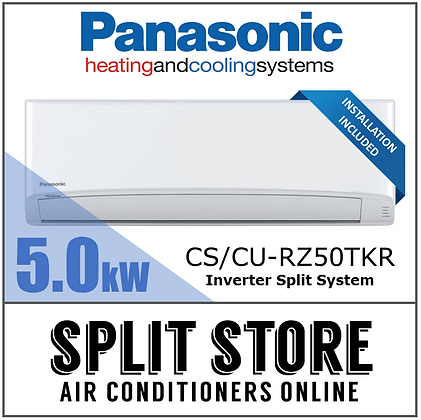 Panasonic 5.0kW Inverter Split System (INSTALLED)