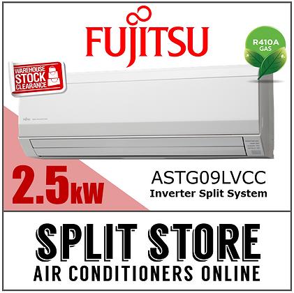 Fujitsu - 2.5kW Split System (Classic Range)