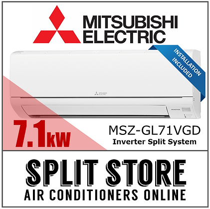 Mitsubishi Electric 7.1kW Split System (INSTALLED)