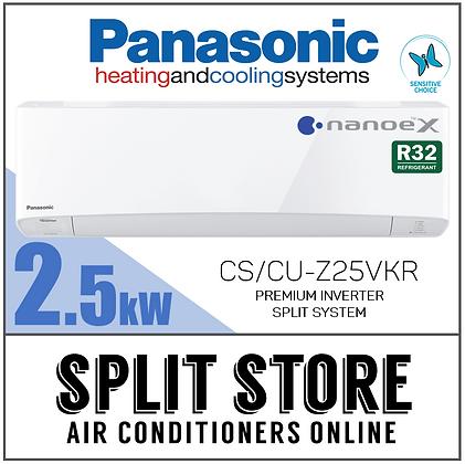 Panasonic | 2.5kW CS/CU-Z25VKR (Deluxe)