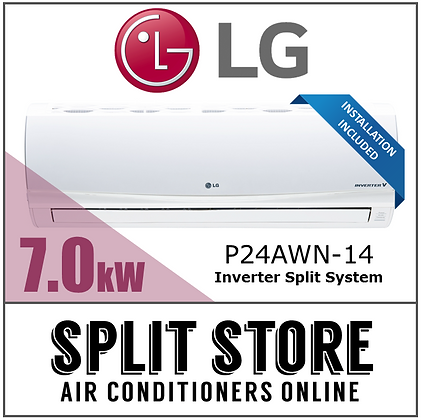 LG 7.0kW Inverter Split System (INSTALLED)