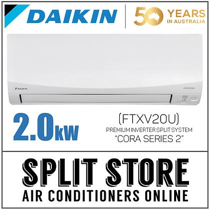 DAIKIN | Cora S2 2.0kW - FTXV20U
