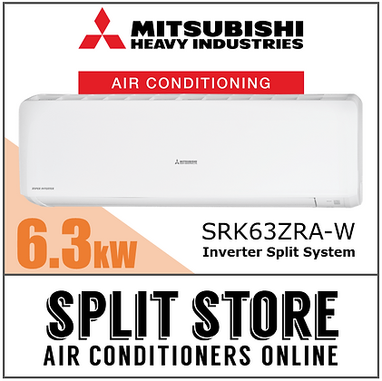 Mitsubishi BRONTE - 6.3kW SRK63ZRA-W