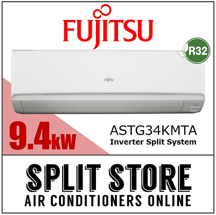 Fujitsu - 9.4kW Split System (Lifestyle Range)