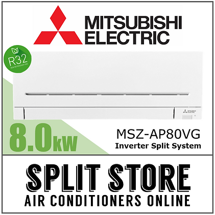 Mitsubishi Electric - 8.0kW Split System