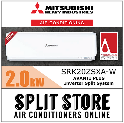 Mitsubishi AVANTI PLUS - 2.0kW SRK20ZSXA-W