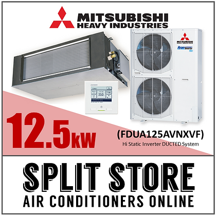 MHIA | Ducted 12.5kW - 8 outlets - 5 zones (Package)
