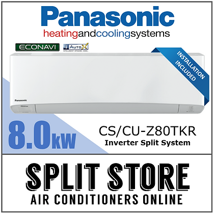 Panasonic 8.0kW Econavi Split System (INSTALLED)