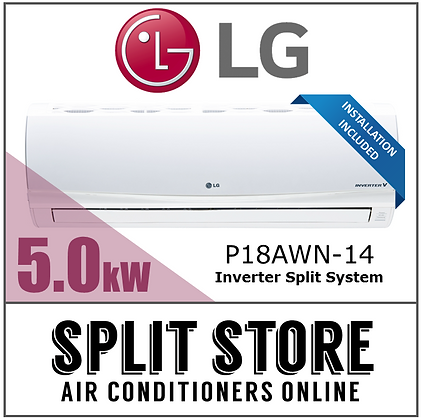 LG 5.0kW Inverter Split System (INSTALLED)