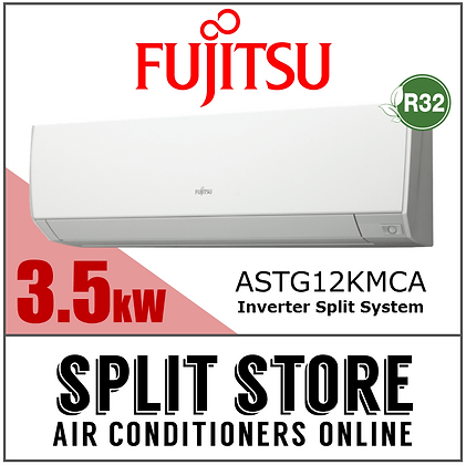 Fujitsu - 3.5kW Split System (Lifestyle Range)