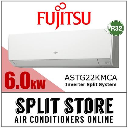 Fujitsu - 6.0kW Split System (Lifestyle Range)